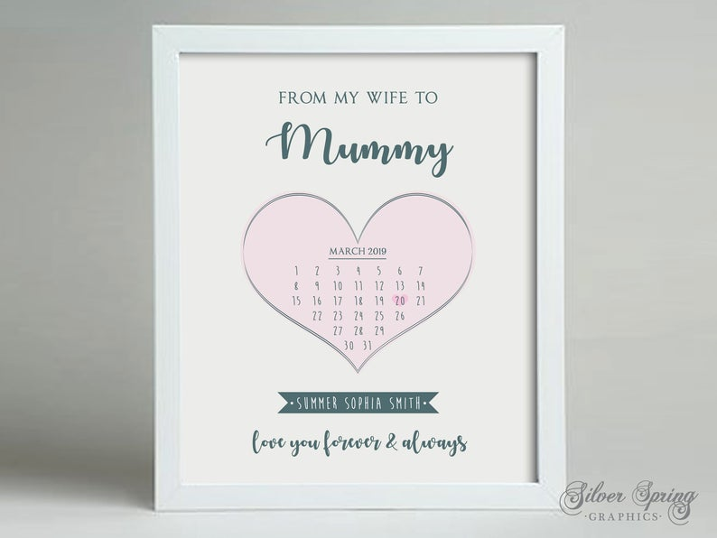 From Wife to Mummy Framed Print