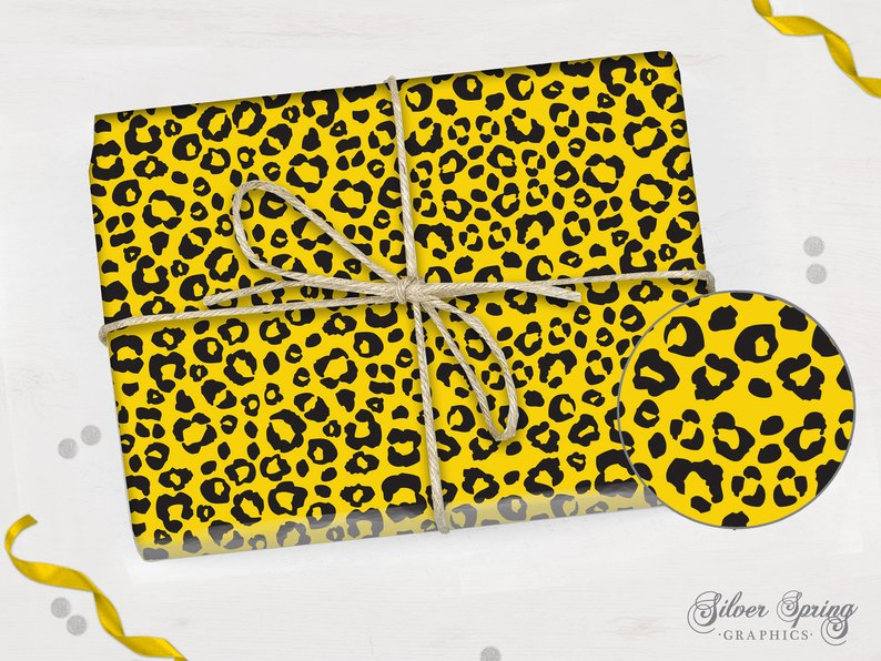 Wonders of the Wild - Wrapping Paper - Cheetah