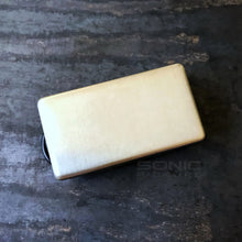 Warhammer humbucker pickup Nickel cover.