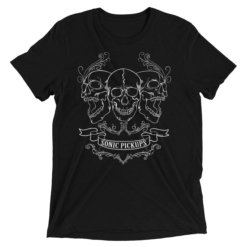 Sonic Pickups Three Skull's Men's T-shirt.
