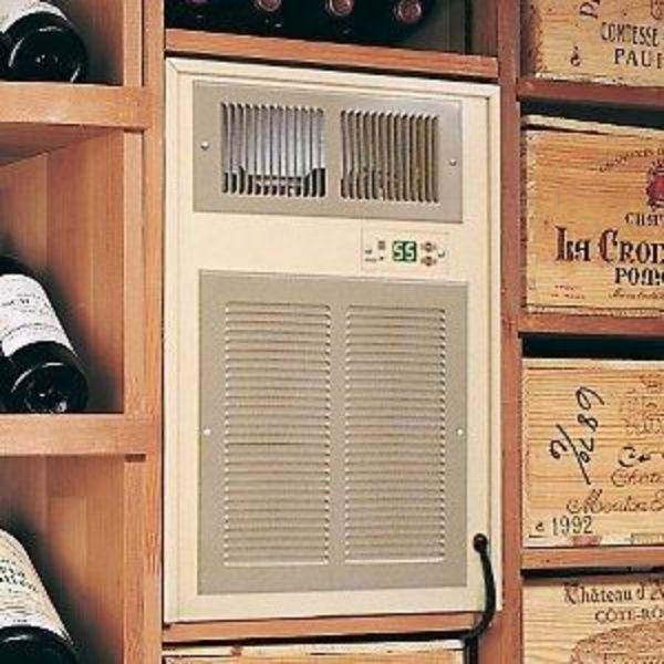 Breezaire WKSL 2200 Wine Cooling Unit Installed