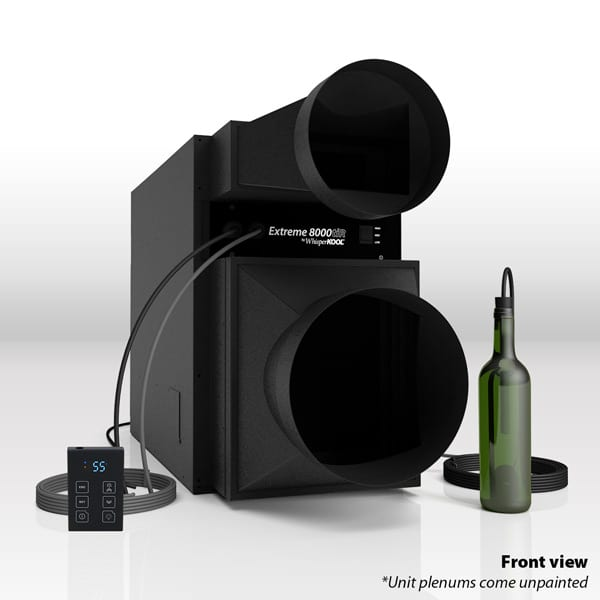 Whisperkool Extreme tiR 8000 Wine Cellar Cooling Unit with Remote and Bottle Probe