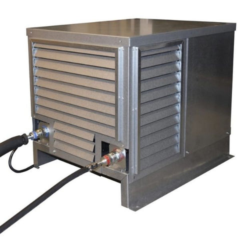 CellarPro 3000Sqc Mini Split Wine Cellar Cooling Unit Condenser Steel Removable Case