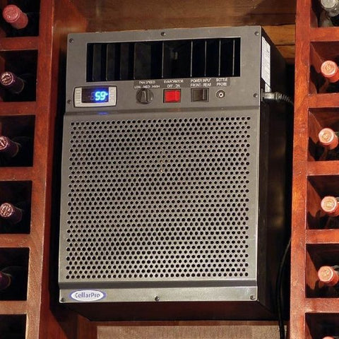 CellarPro 3200VSx Wine Cellar Cooling Unit Installed