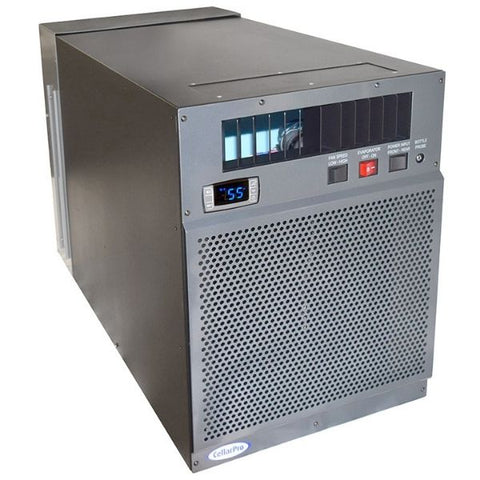 CellarPro 6200VSx Wine Cellar Cooling Unit Front Side View