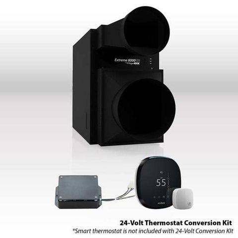 Whisperkool Extreme 8000tiR Wine Cellar Cooling Unit with Thermostat conversion Kit