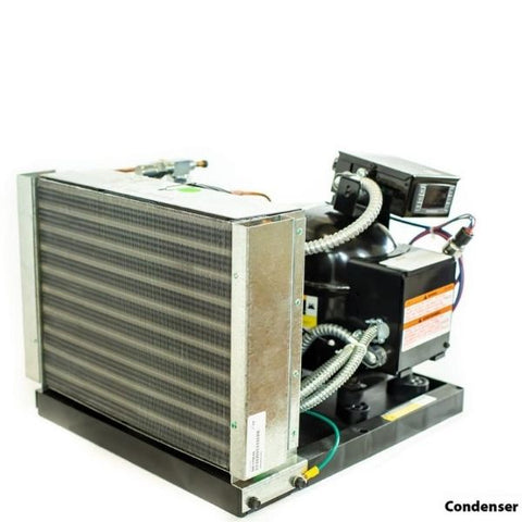 Whisperkool Platinum 8000 Split Wine Cellar Cooling Unit Condenser 3D View