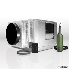 Whisperkool Quantum 9000 Split Wine Cellar Cooling Unit 3D View