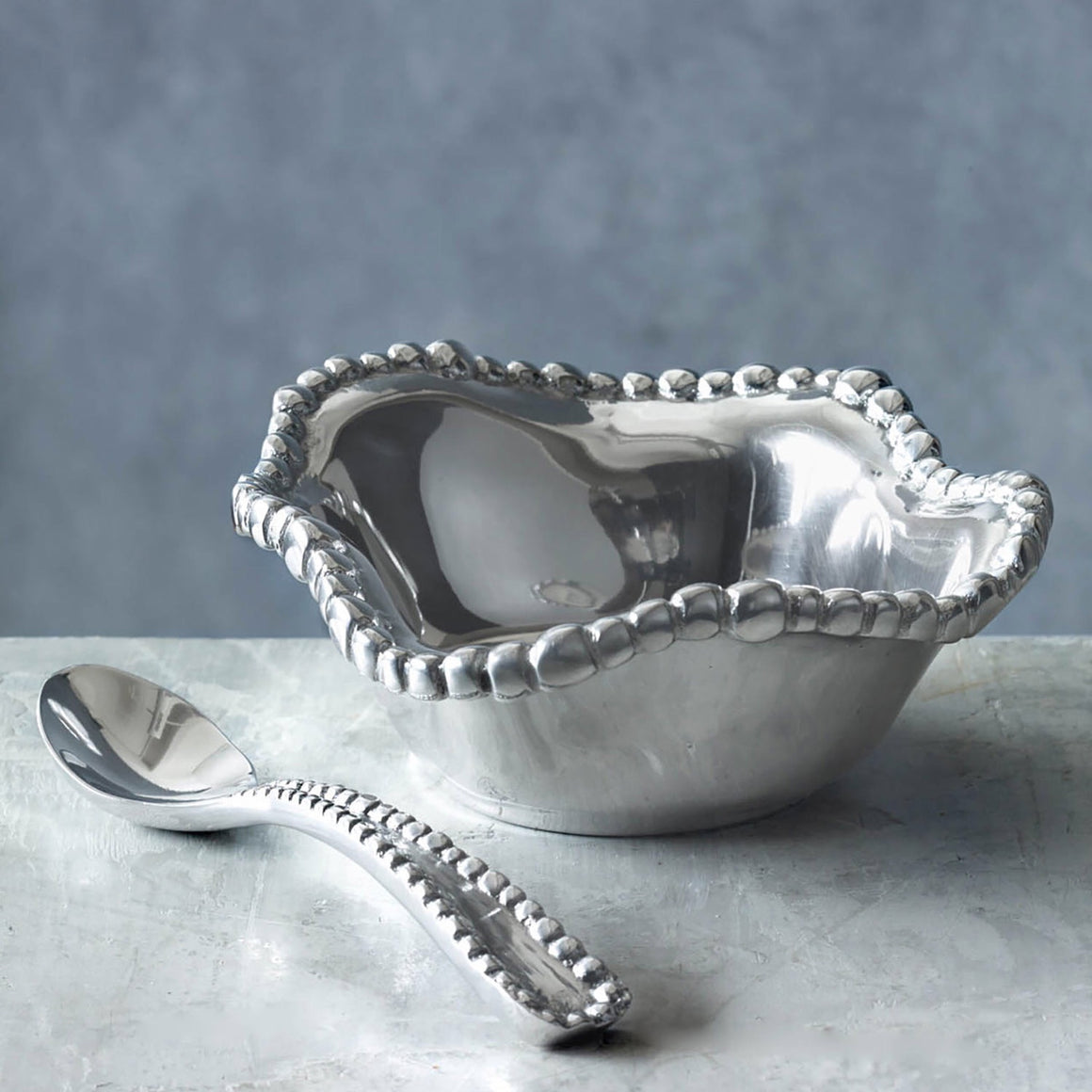 Organic Pearl Petite Bowl with Spoon
