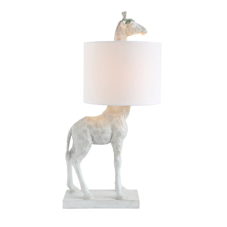 Resin Giraffe Lamp