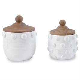 Raised Dotted Canister Set
