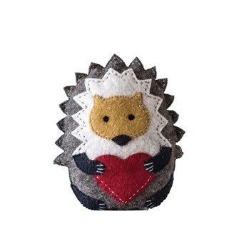 Hedgehog Tooth Fairy Pillow
