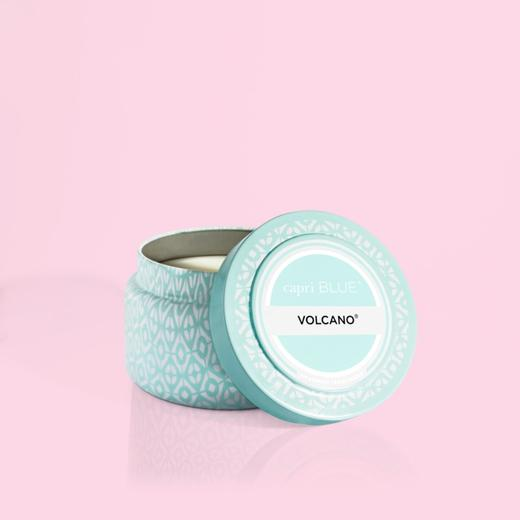 Volcano Signature Printed Travel Tin