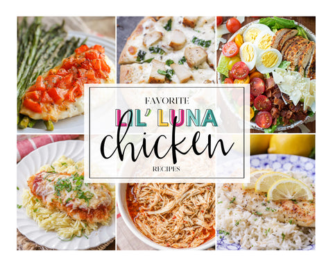 20+ Favorite Lil' Luna Chicken Recipes (Digital Download)