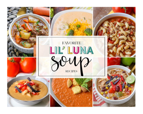 20+ Favorite Lil' Luna Soup Recipes (Digital Download)