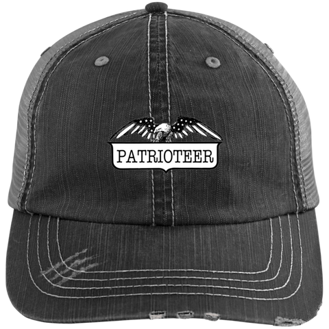 Patrioteer Unstructured Trucker Cap
