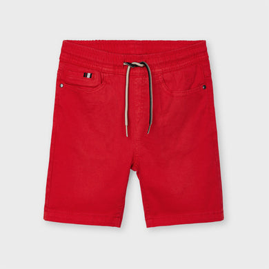 Pre Order Mayoral Boys Red Shorts 3238