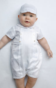Baby Boys Sarah Louise Christemning Baptism Special Occasion Outfit with hat