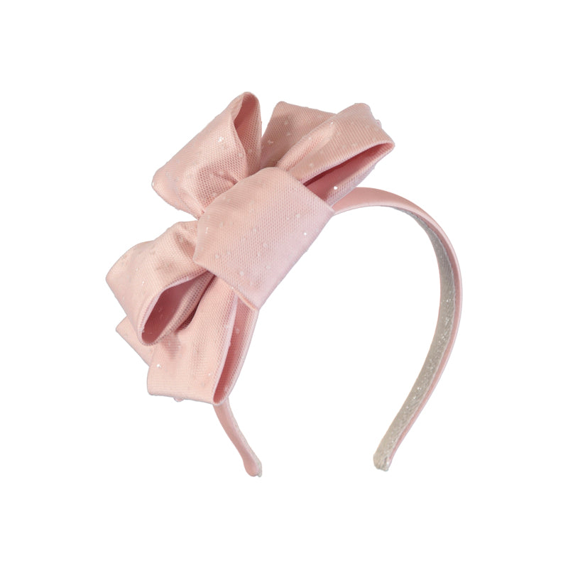 Abel & Lula Girls Rose Double Look Headband - 5421