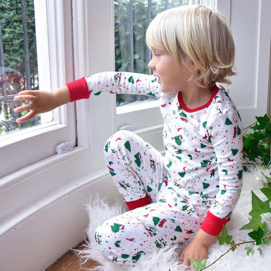 Christmas Pajamas, Boys Christmas Pajamas, Girls Christmas Pajamas, Matching Pajamas