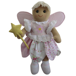 Girls Fairy Doll, Fairy Rag Doll, Powell Crafts Girls Rag Doll