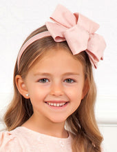 Load image into Gallery viewer, Abel & Lula Girls Rose Double Look Headband