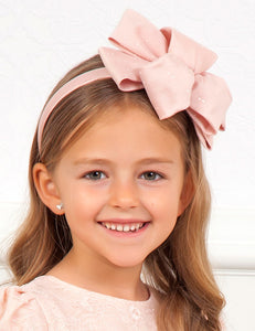 Abel & Lula Girls Rose Double Look Headband