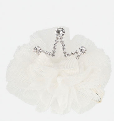 Angel's Face Girls Crown Hair Clip Snowdrop