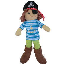 Load image into Gallery viewer, Pirate Rag Doll for little pirate lovers