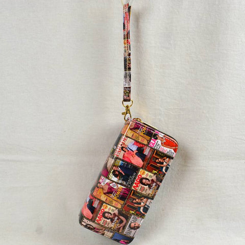 M.O Newspaper Wallet/Wristlet