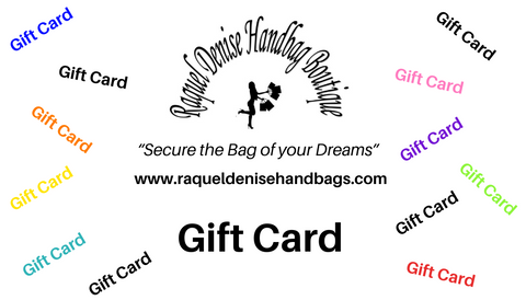 Raquel Denise Handbag Boutique Gift Card