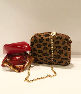 Leopard Swing Bag