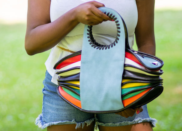 """Wave of Colors"" Handbag"