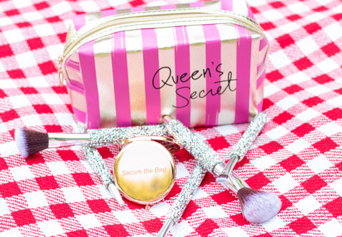 """Queen's Secret"" Cosmetic Pouch"