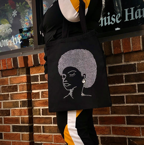 Afro Chick Tote