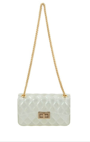 Crystal Clear Crossbody Bag