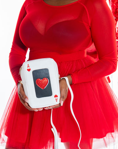 Ace of Hearts Crossbody