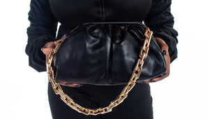 The Chain Pouch - Black