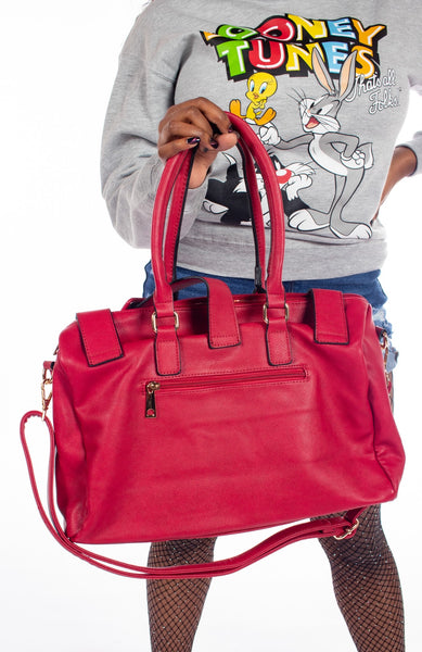 Multi Tote Belt Bag - Red
