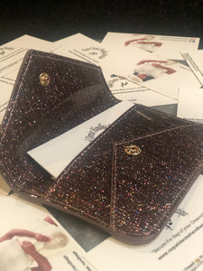 Card Holder - Multi Glitter