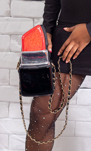 Red Lipstick Clutch Purse