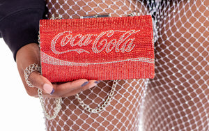 Coca Cola Couture Clutch