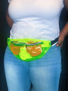 """Kryptonite"" Neon Fanny Pack/Crossbody Bag"