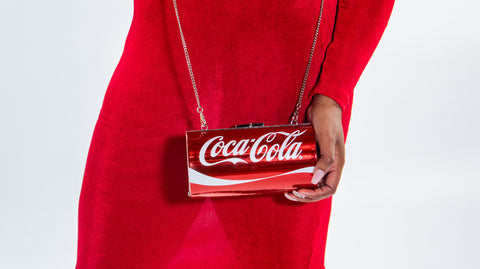 Large Coca Cola Clutch