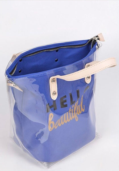"""Hello Beautiful"" Tote"