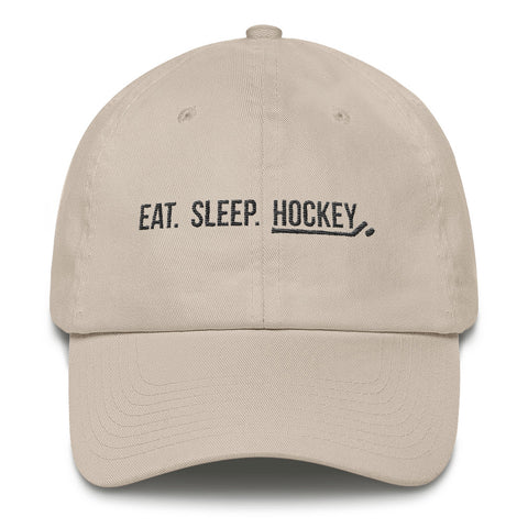 Eat. Sleep. Hockey Premium Cap
