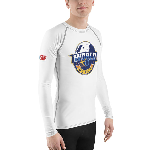World of Ice Hockey Men's Rash Guard