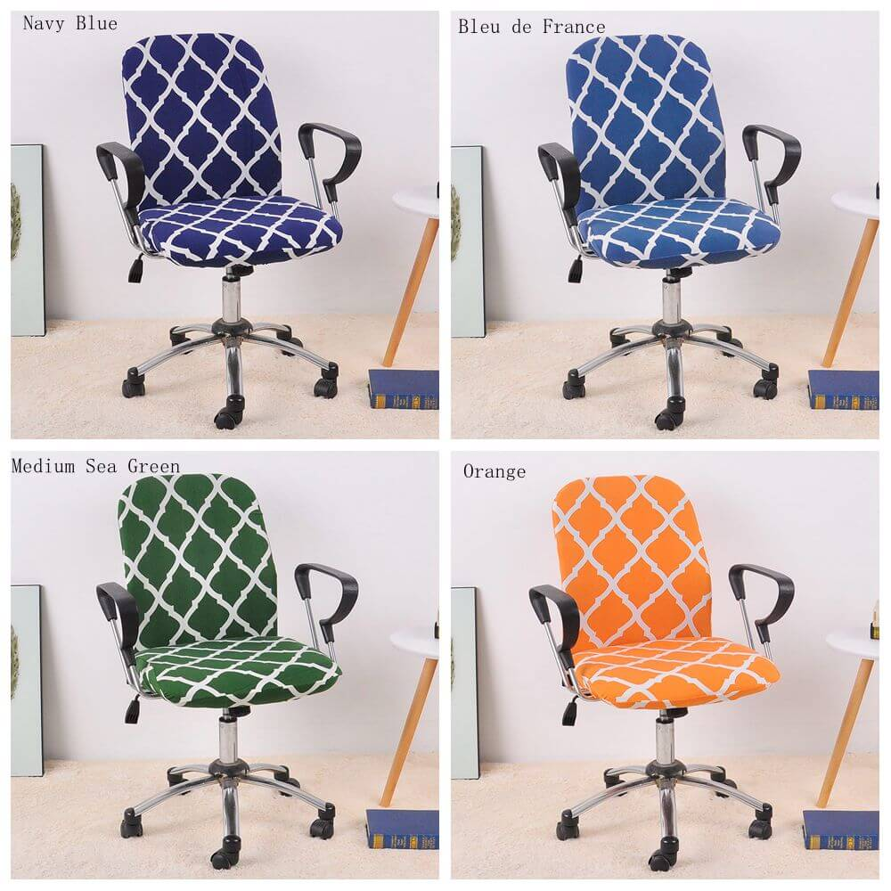 spandex office slipcover and chair cover