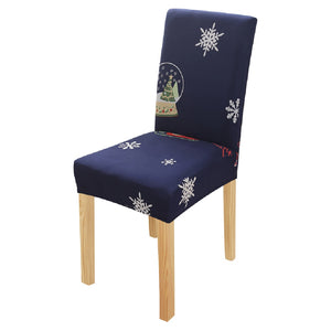 Christmas Spandex Chair Seat Cover