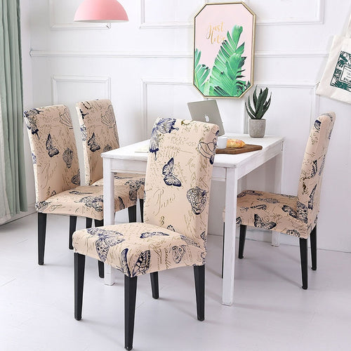 Strange Multi Color Spandex Chair Cover Oryone Bralicious Painted Fabric Chair Ideas Braliciousco